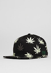 Snapback-Cap GL Best Budz black/glow in the dark
