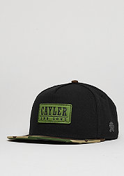 Snapback-Cap CL Garage black/woodland/olive