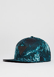 C&S CAP GLD Wavey blue/black