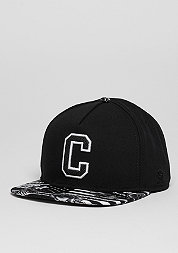 Snapback-Cap GLD Cee Flagged black/white