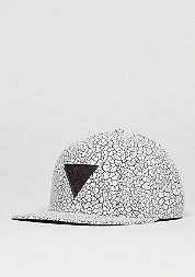 C&S CAP GLD Cracked white/black