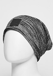 Beanie BL Patched Slouch black/grey knit