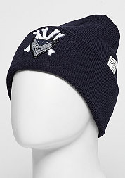 C&S WL Beanie Grime Old School navy/white