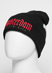 Beanie GL Amsterdam Old School black/red/gold