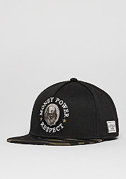 Snapback-Cap WL Money Power Respect black/gold/white