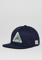 Snapback-Cap WL Triangle Of Trust navy/green/white