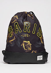 Turnbeutel WL Gymbag Paris Jaune black/yellow