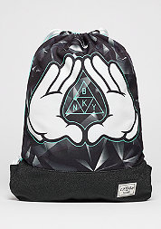 C&S WL Gymbag Infinity black/mint/white