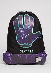 C&S WL Gymbag Fly black/purple