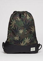 C&S GL Gymbag Erbz leaf camo/black