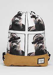 Turnbeutel GL Gymbag Bedstuy black/mc/brown