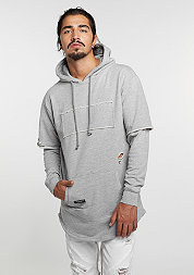 Hooded-Sweatshirt  BL Presidential Cut Off distressed /grey heather