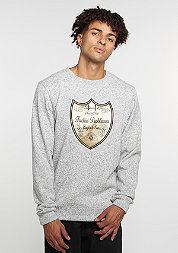 C&S WL Crew Probleme grey heather/gold