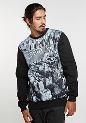 Sweatshirt WL Crew Crooklyn Skyline black/grey/white