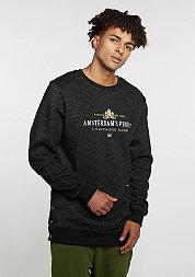 Sweatshirt GL Crew A Dam´s Finest black melange/gold/white