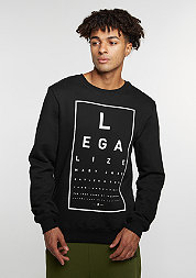 C&S GL Crew Legaleyez black/white