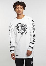 Longsleeve BL Longsleeve Armed & Dangerous white/black