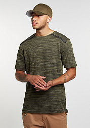T-Shirt BL Severoz Long black/olive