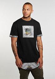 T-Shirt BL Paiz Long black/woodland/white