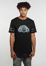 T-Shirt WL BKNY black/mint/grey
