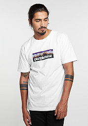 T-Shirt GL Purple Hills white/black/purple