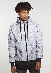 C&S Jacket WL Infintiy Windbreaker white marble/black