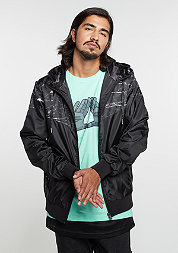 C&S Jacket WL Infintiy Windbreaker black marble/gold