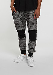 C&S Sweatpant BL Theo black/white