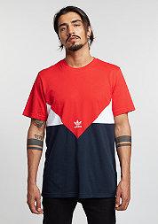 T-Shirt Corado vivid red