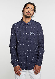 Hemd BL Shirt Zero navy/white