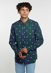 Hemd BL Shirt Budz navy/green/white