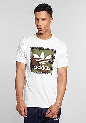 T-Shirt Camo Box white