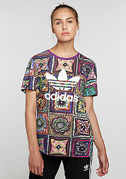 T-Shirt Crochita multicolor