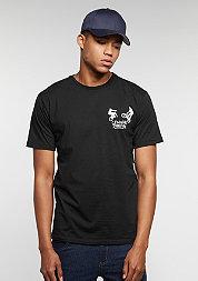T-Shirt 360 black/white