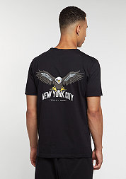 T-Shirt NYC black/multi