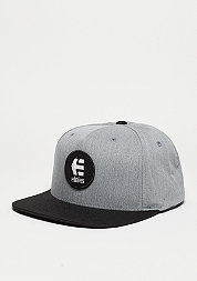 Snapback-Cap Rook grey/heather