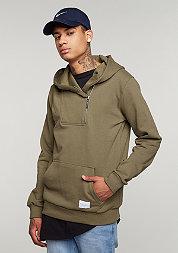 Hooded-Sweatshirt Banner olive/olive