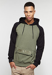 Hooded-Sweatshirt Richter olive/black