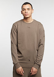 CD Sweater Shoreditch mushroom/black