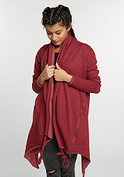 Terry Cardigan burgundy