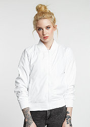 Jacke Light Bomber white