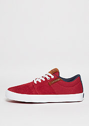 Skateschuh Stacks Vulc II red/navy/white