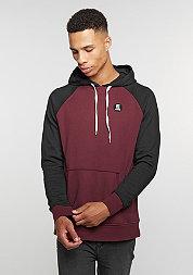 Hooded-Sweatshirt E-Base burgundy