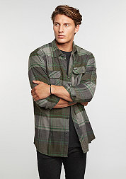 Hemd Bowery Flannel forest green