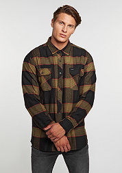 Hemd Bowery Flannel black/gold