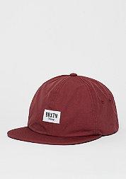 Snapback-Cap Hoover || burgundy