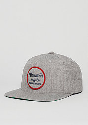 Snapback-Cap Wheeler light heather grey