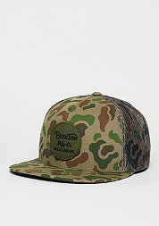 Trucker-Cap Wheeler Mesh brown/camo