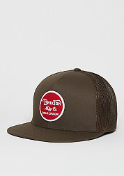 Trucker-Cap Wheeler Mesh brown