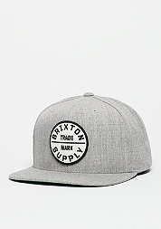 Snapback-Cap Oath ||| light heather grey